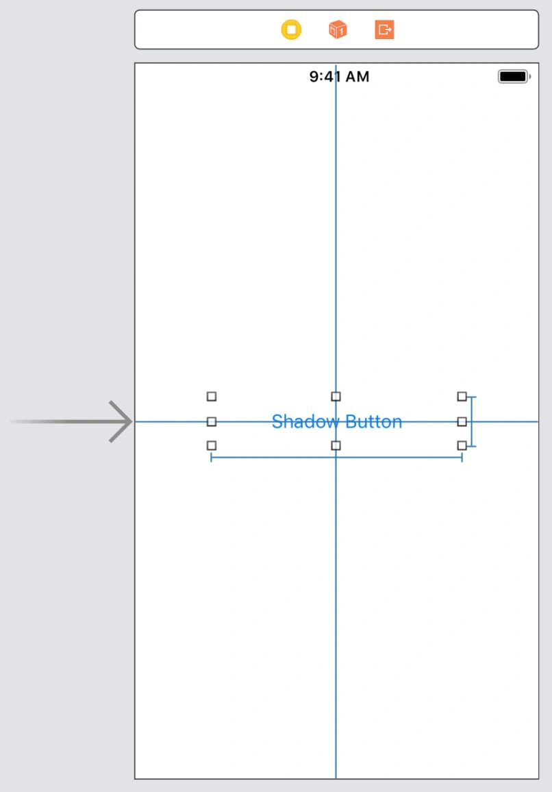 Add a shadow to a button with rounded edges – Marco Contino – iOS